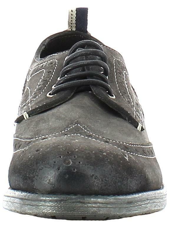 wrangler wrangler castle brogue scarpe uomo grigi