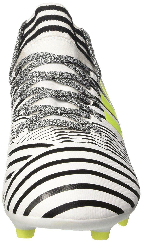 adidas adidas nemeziz 17.3 fg  j scarpini calcio bambino bianchi
