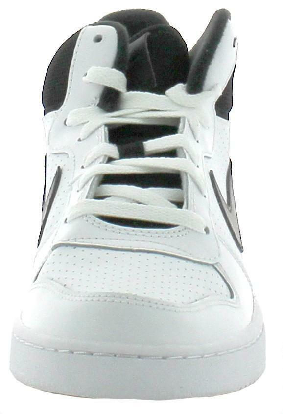 nike court borough mid scarpe sportive bianche