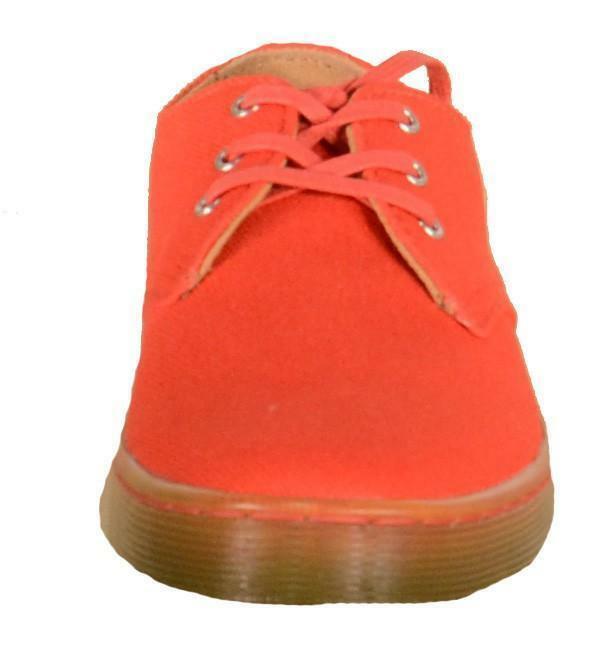 dr. martens gizelle scarpe donna rosse canvas 20336602