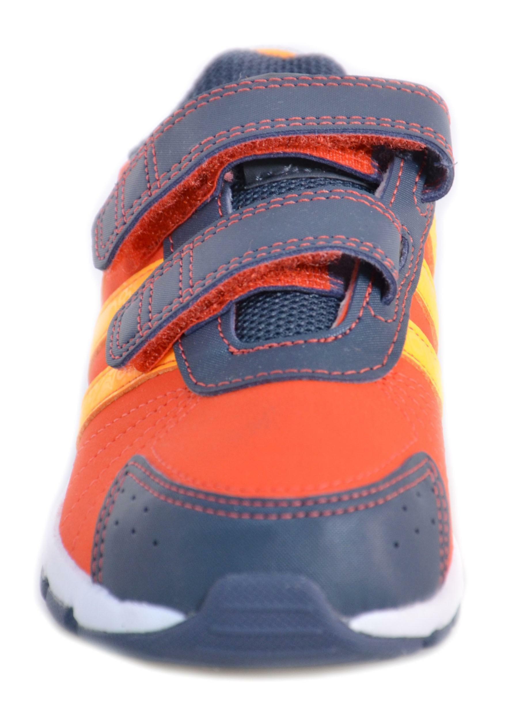 adidas adidas snice 3 cf i scarpe bambino arancio pelle strappi m20085