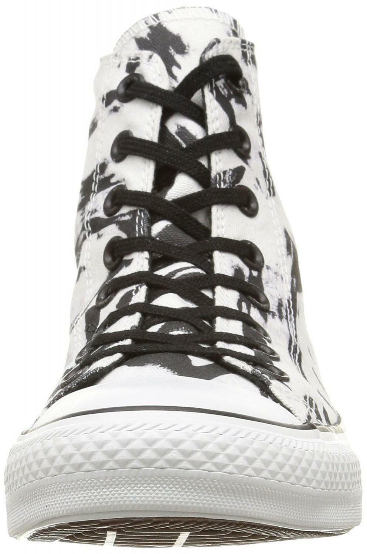 converse converse all star chuck taylor print scarpe sportive donna bianche nere 148468c