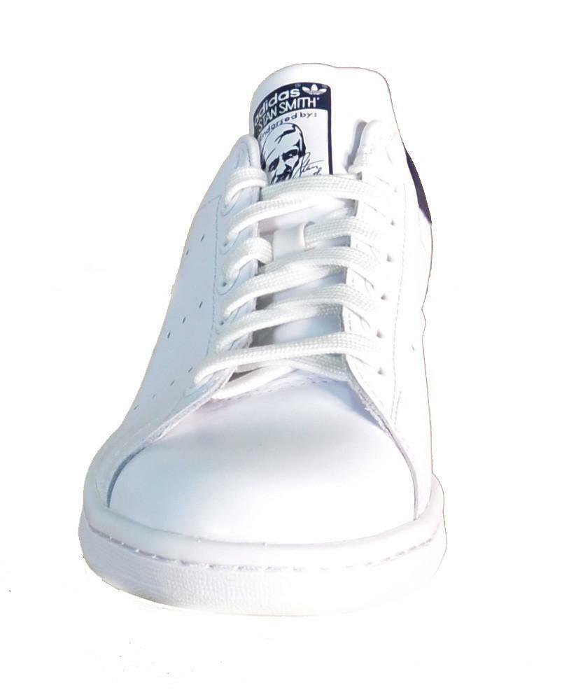 adidas adidas stan smith scarpe uomo donna pelle bianco blu m20325