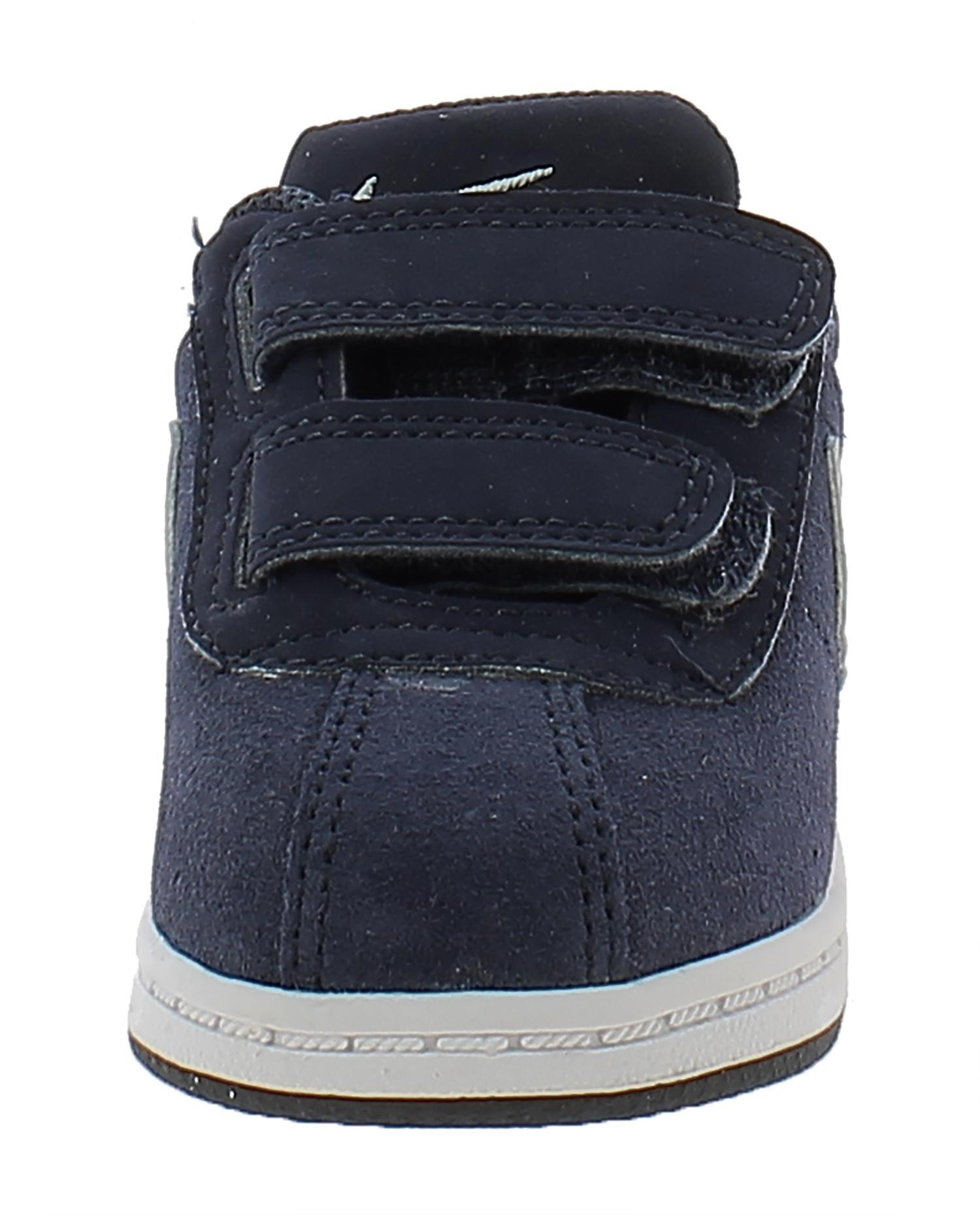 nike nike brutez plus (td) scarpe sportive bambino pelle blu strappi 535450