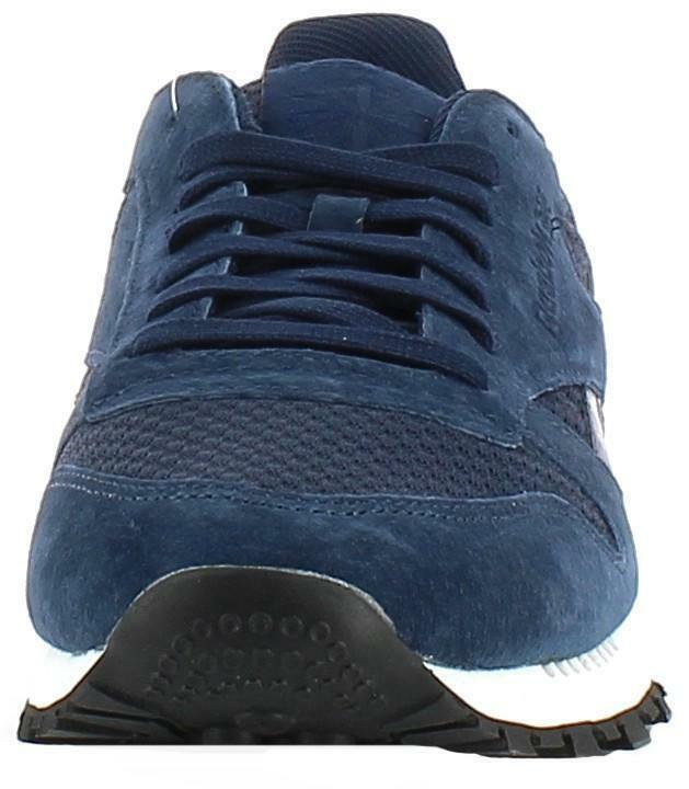 reebok reebok cl leather clip tech scarpe sportive uomo blu