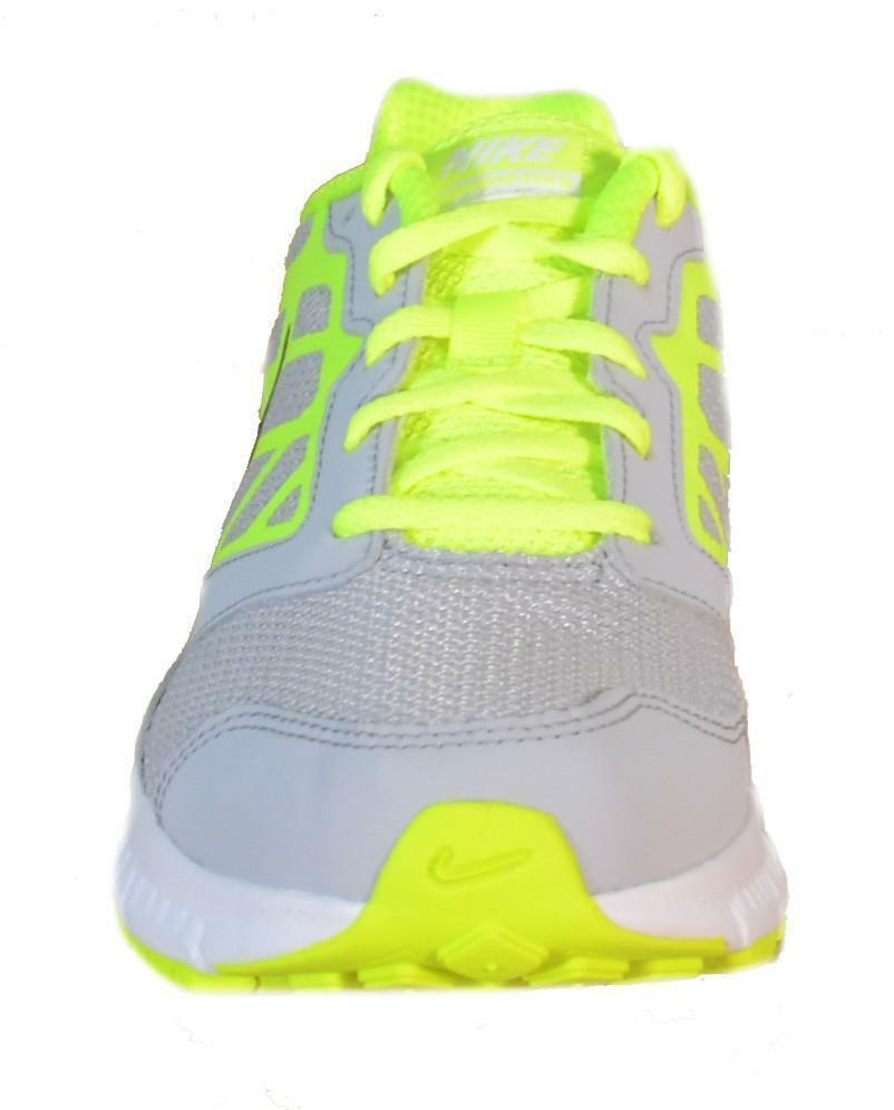 nike nike downshifter 6 scarpe bambino grigie pelle tela 684979