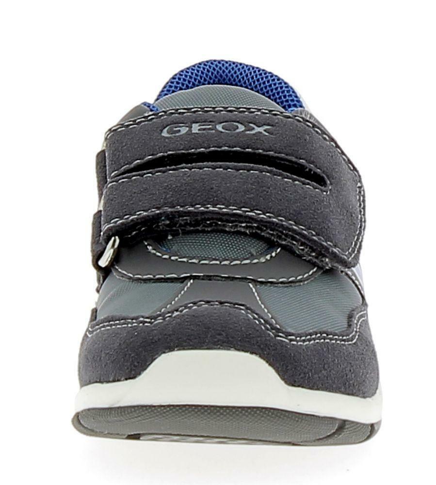 geox geox b shaax b scarpe sportive bambino grigie