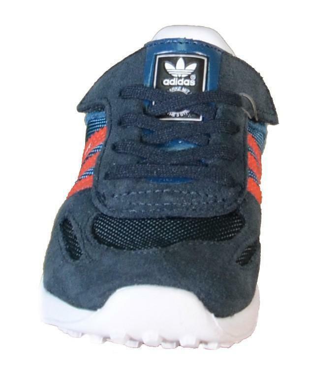 adidas adidas la trainer cf i scarpe bambino blu lacci strappi m17131
