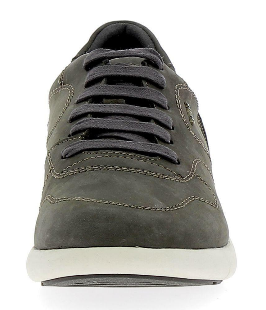 geox geox u brattley a scarpe sportive uomo grigie