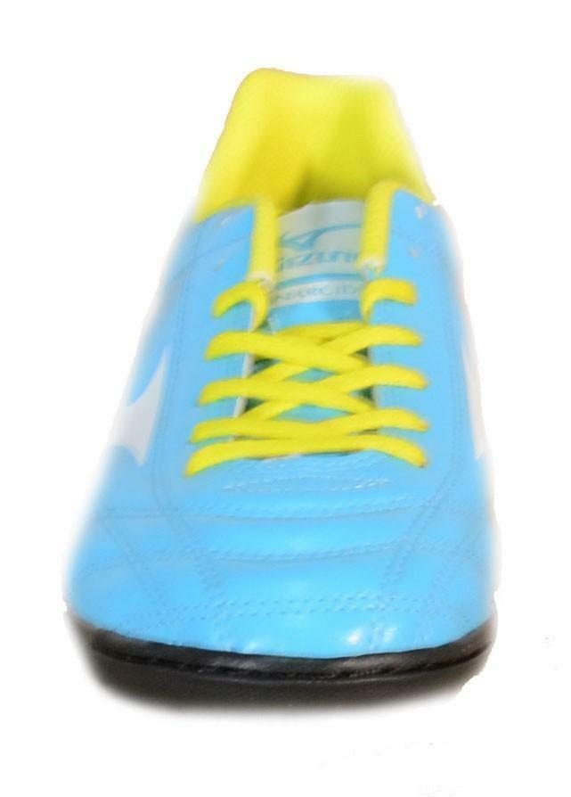 mizuno mizuno monarcida as scarpini calcetto celesti pelle 152428