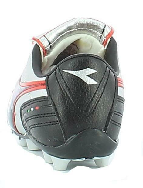diadora diadora 750 ii mid jr scarpini calcio bambino argento