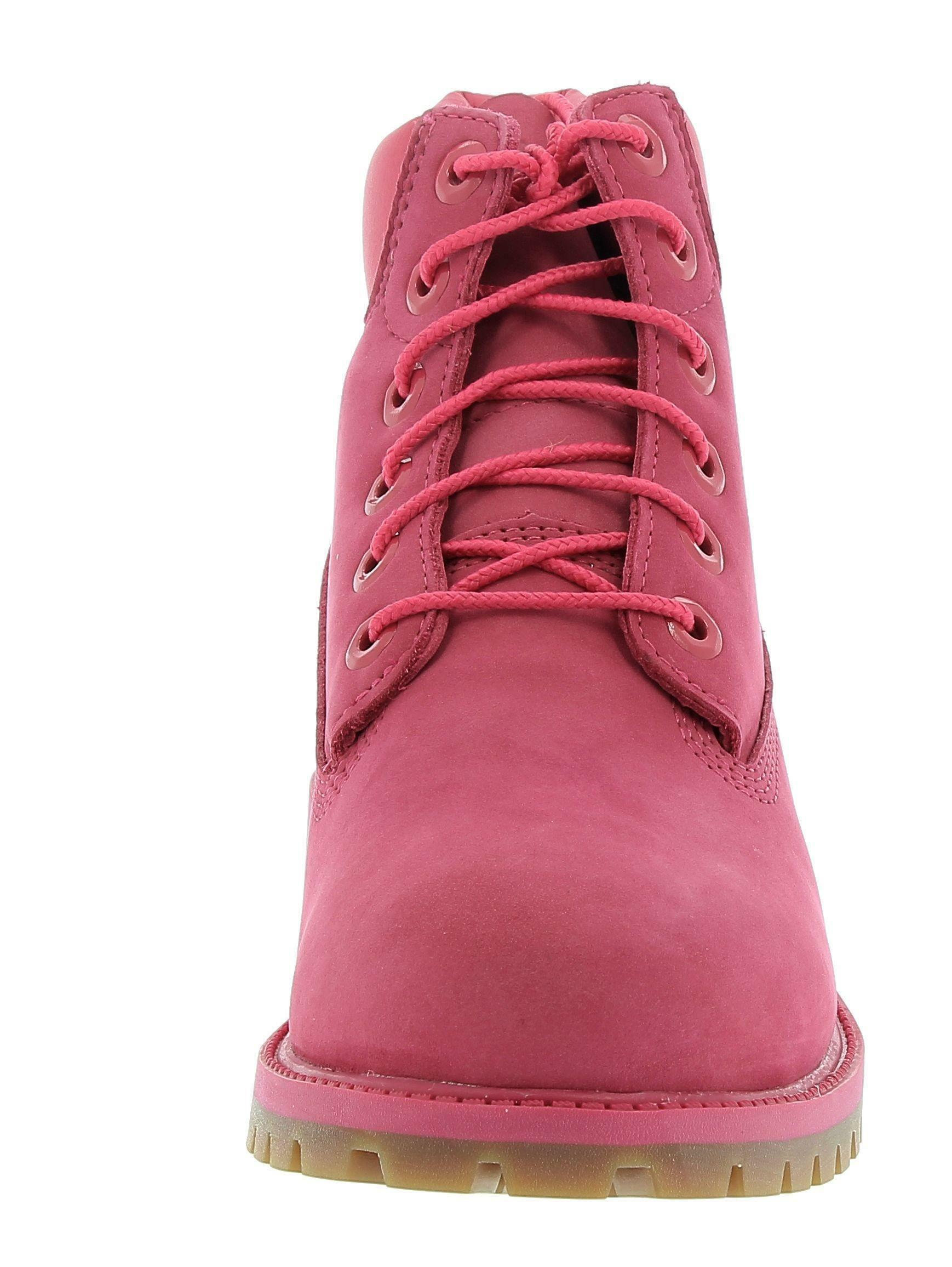 timberland timberland 6 in premium wb boot rose red scarponcino fuxia a10de