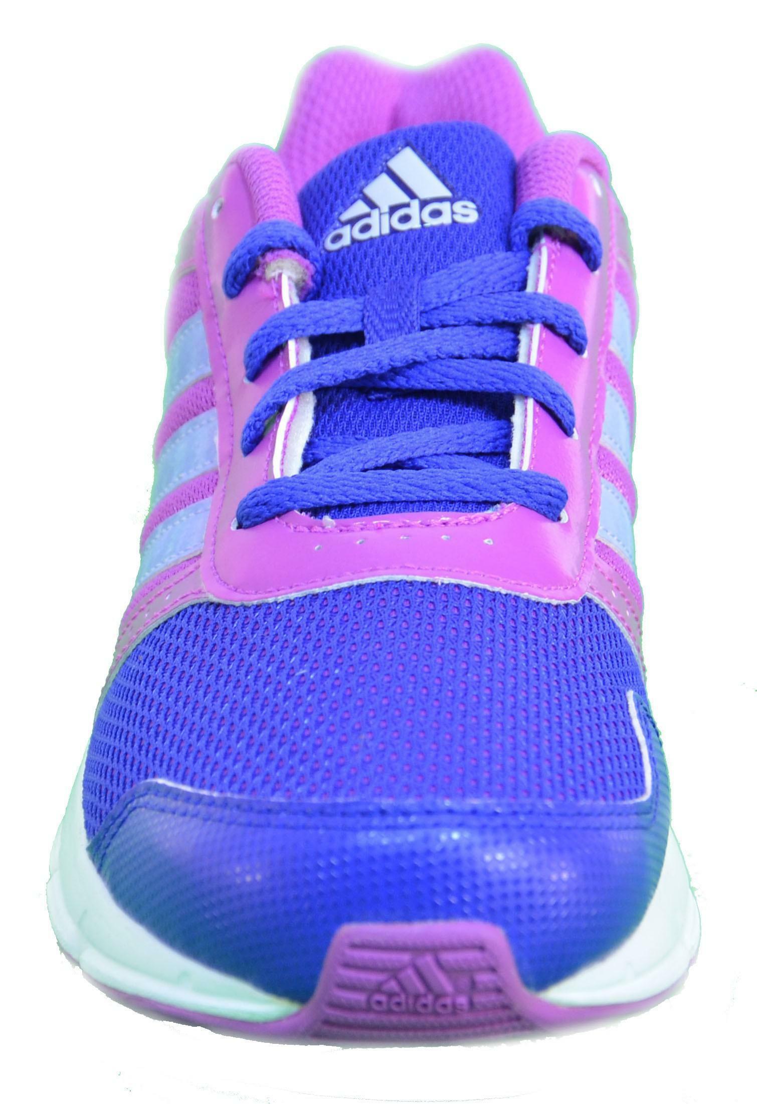 adidas adidas hyperfast k scarpe donna viola pelle tela b44128