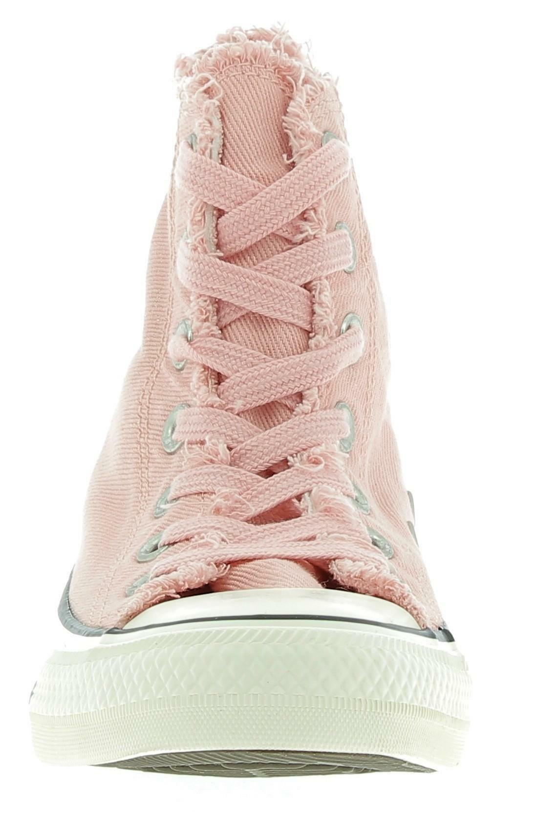converse converse ctas hi scarpe sportive glitter rosa