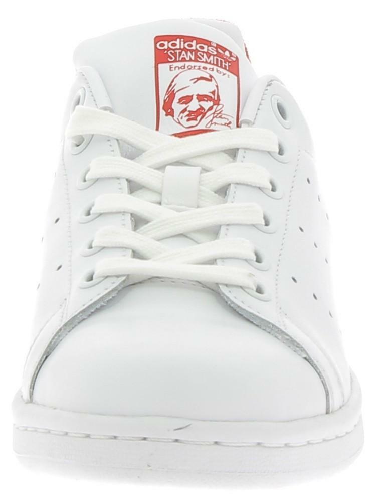 adidas adidas stan smith scarpe sportive bianche rosse