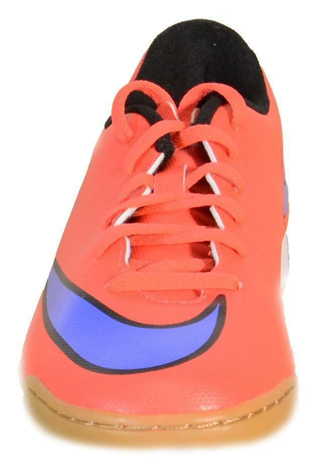 nike nike mercurial vortex ii ic scarpini calcetto rossi pelle indoor 651648