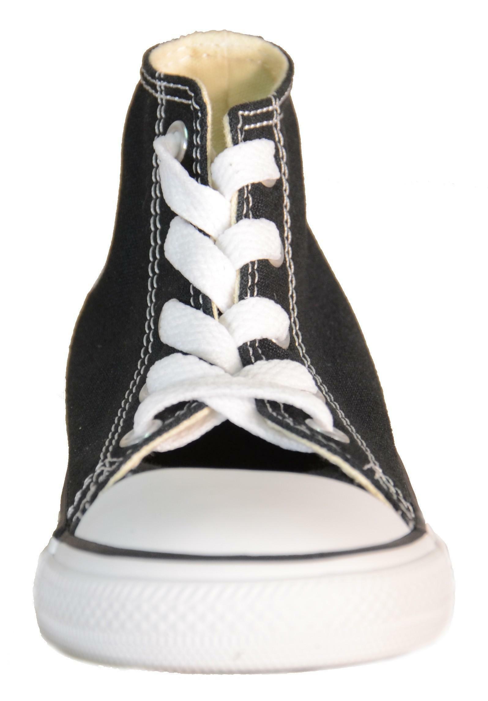 converse converse all star scarpe bambino nere tela 7j231c