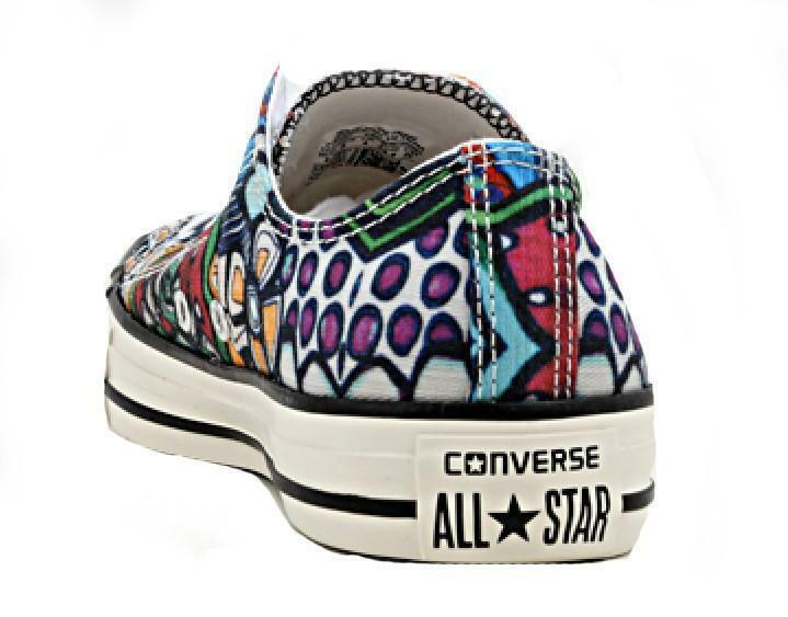 converse converse all star chuck taylor ox plastic scarpe sportive multicolore 152766c