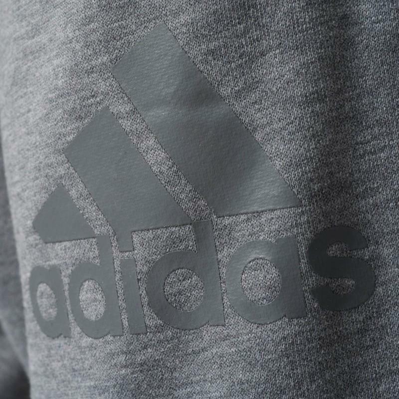 adidas adidas pantalone uomo grigio