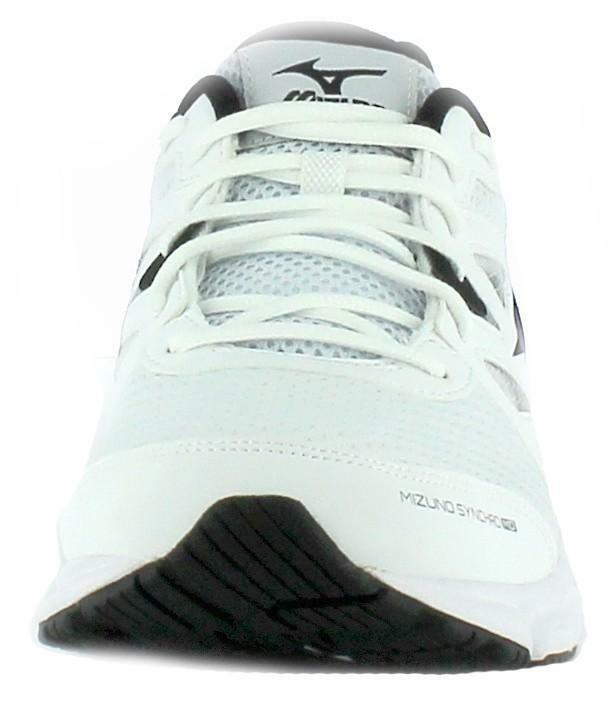 mizuno mizuno synchro md scarpe running uomo bianche