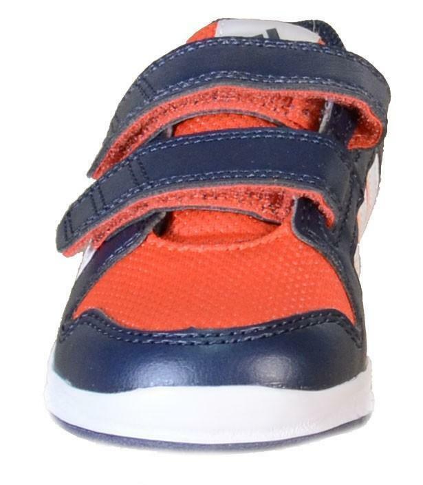 adidas adidas lk trainer 6 cf i scarpe sportive bambino blu pelle tela strappi b40558