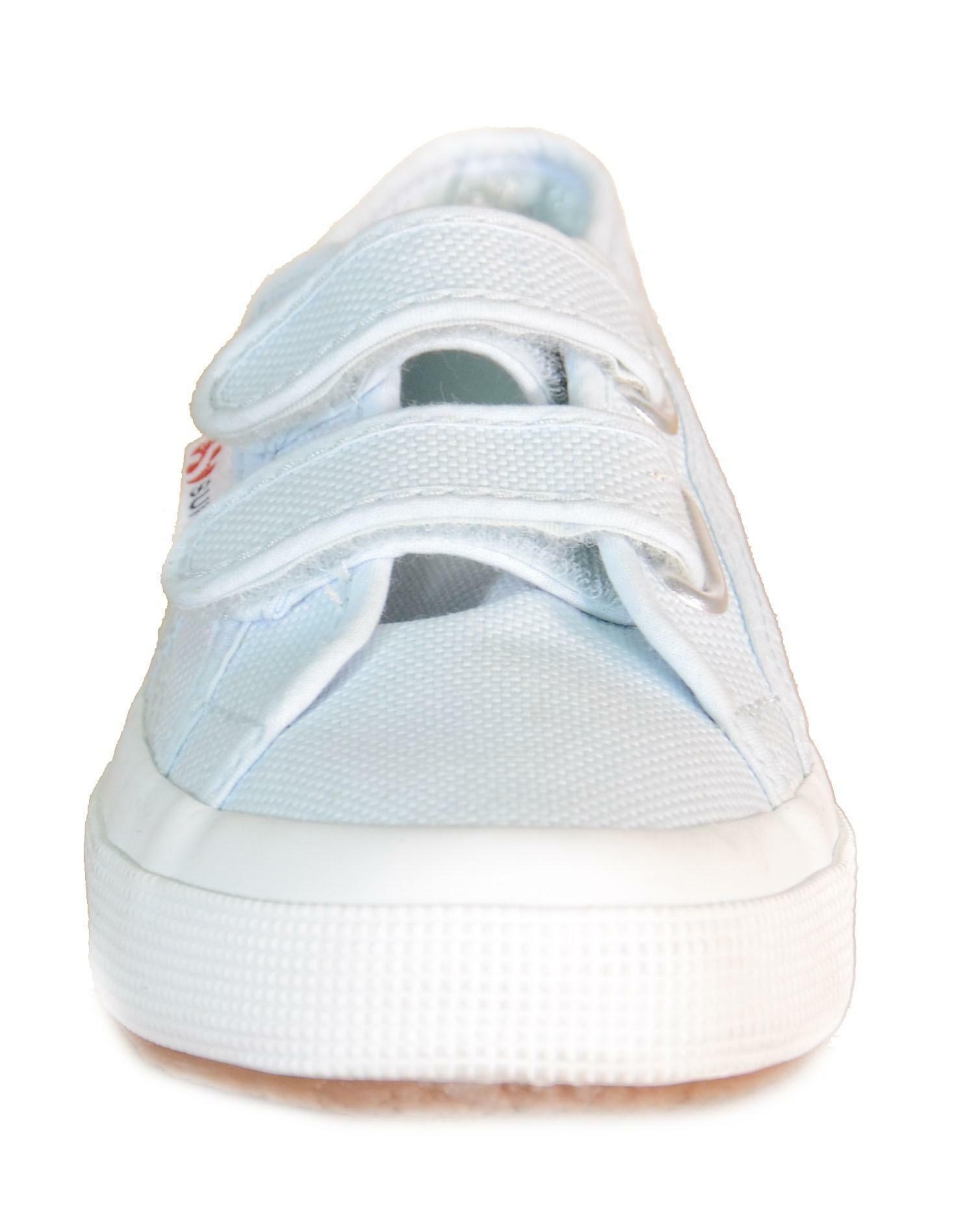 superga superga jvel classic scarpe sportive bambino azzurro tela strappi 932