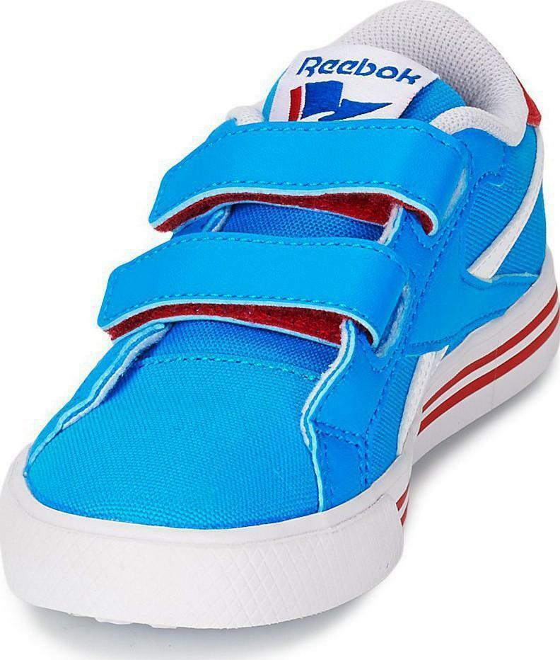 reebok reebok royal comp scarpe sportive azzurre strappi m47010