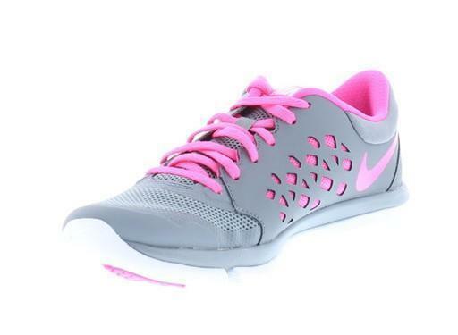 nike nike wmns flex 2015 rn scarpe sportive donna grigie pelle tela 709021