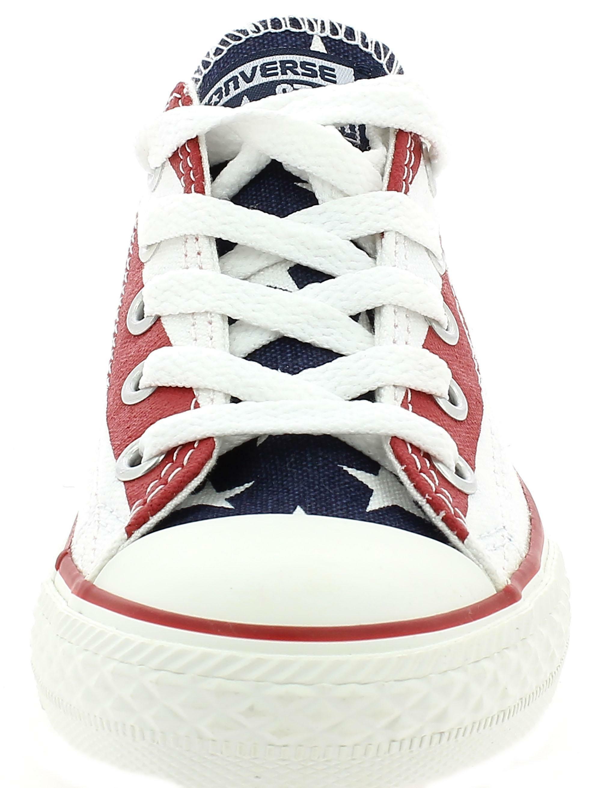 converse converse all star ct scarpa sneaker bandiera america junior 338558