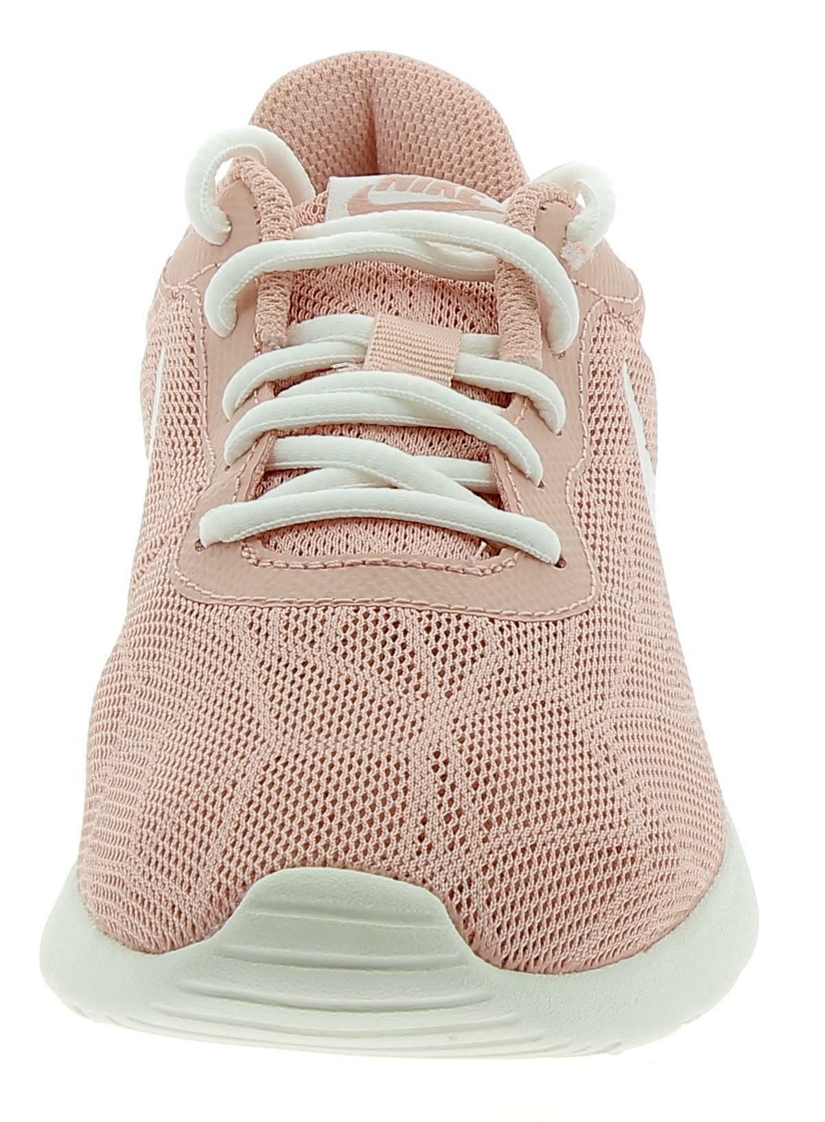 nike nike tanjun scarpe sportive donna rosa 844908603