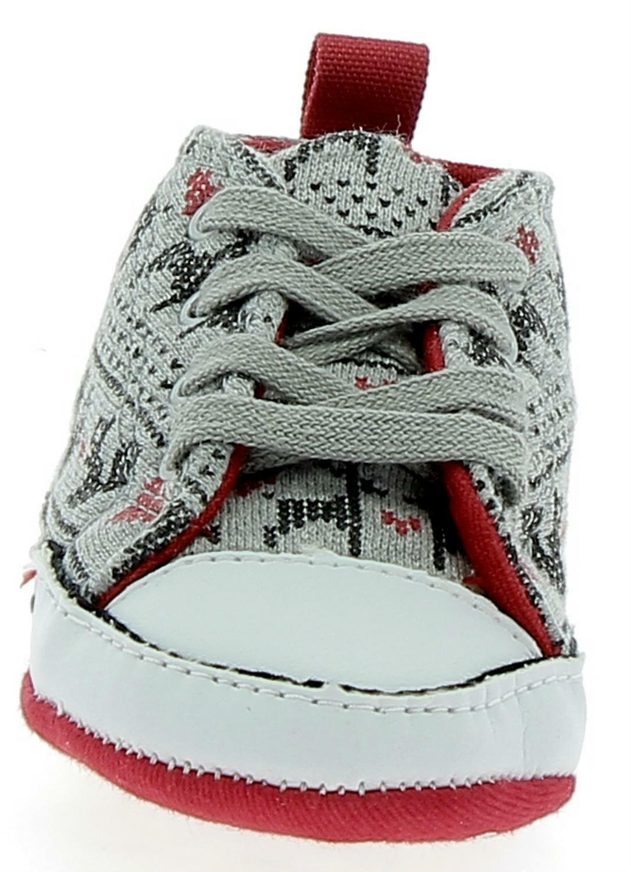 converse converse scarpe culla bambino grigie ct first star hi 835491c