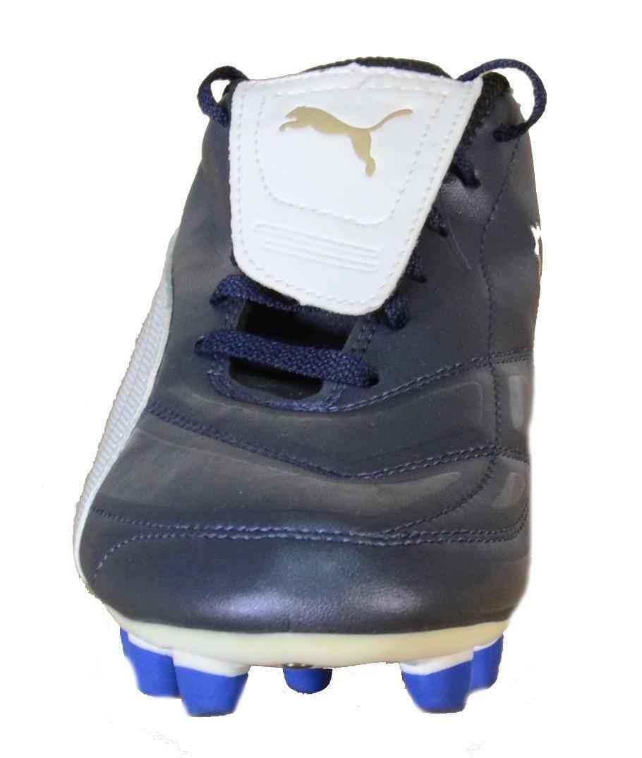 puma puma esito ii i fg scarpini calcio uomo blu pelle 101010
