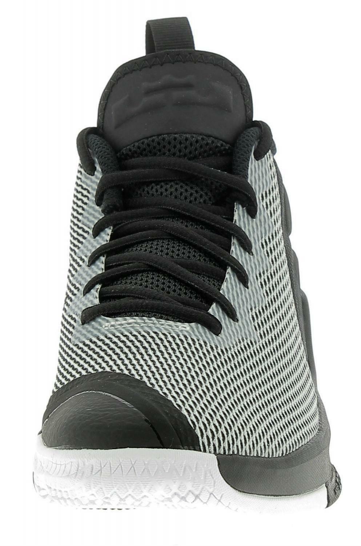 nike nike lebron james witness ii scarpe basket uomo bianco nere