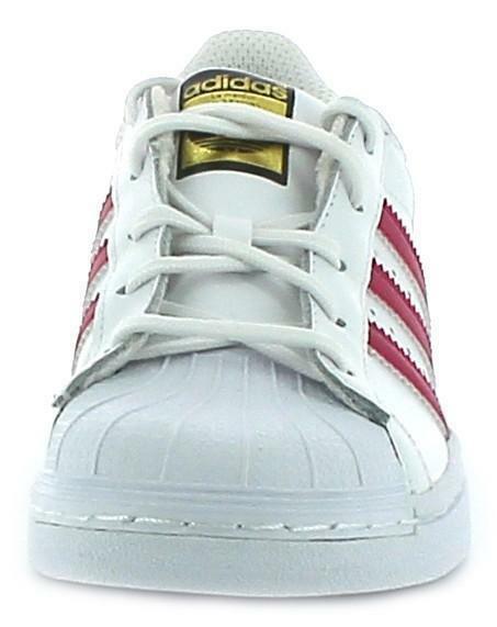 adidas adidas superstar foundation c scarpe sportive bambina bianche ba8382