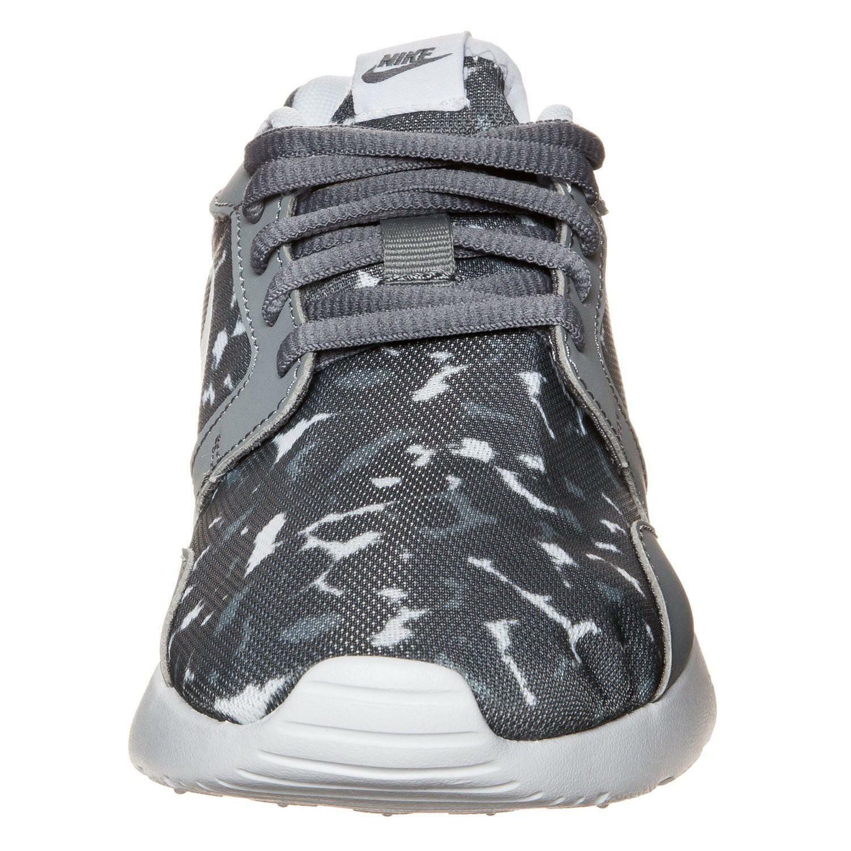 nike nike wmns kaishi print scarpe sportive donna grigie pelle tela 705374