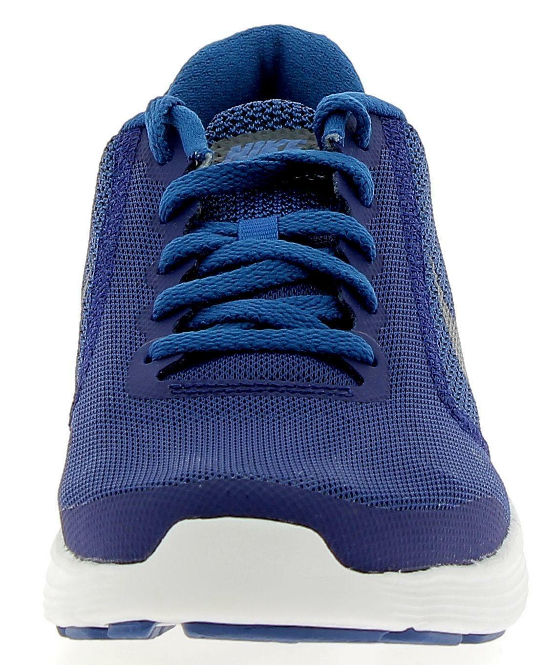 nike nike revolution 3 (gs) scarpe bambino blu