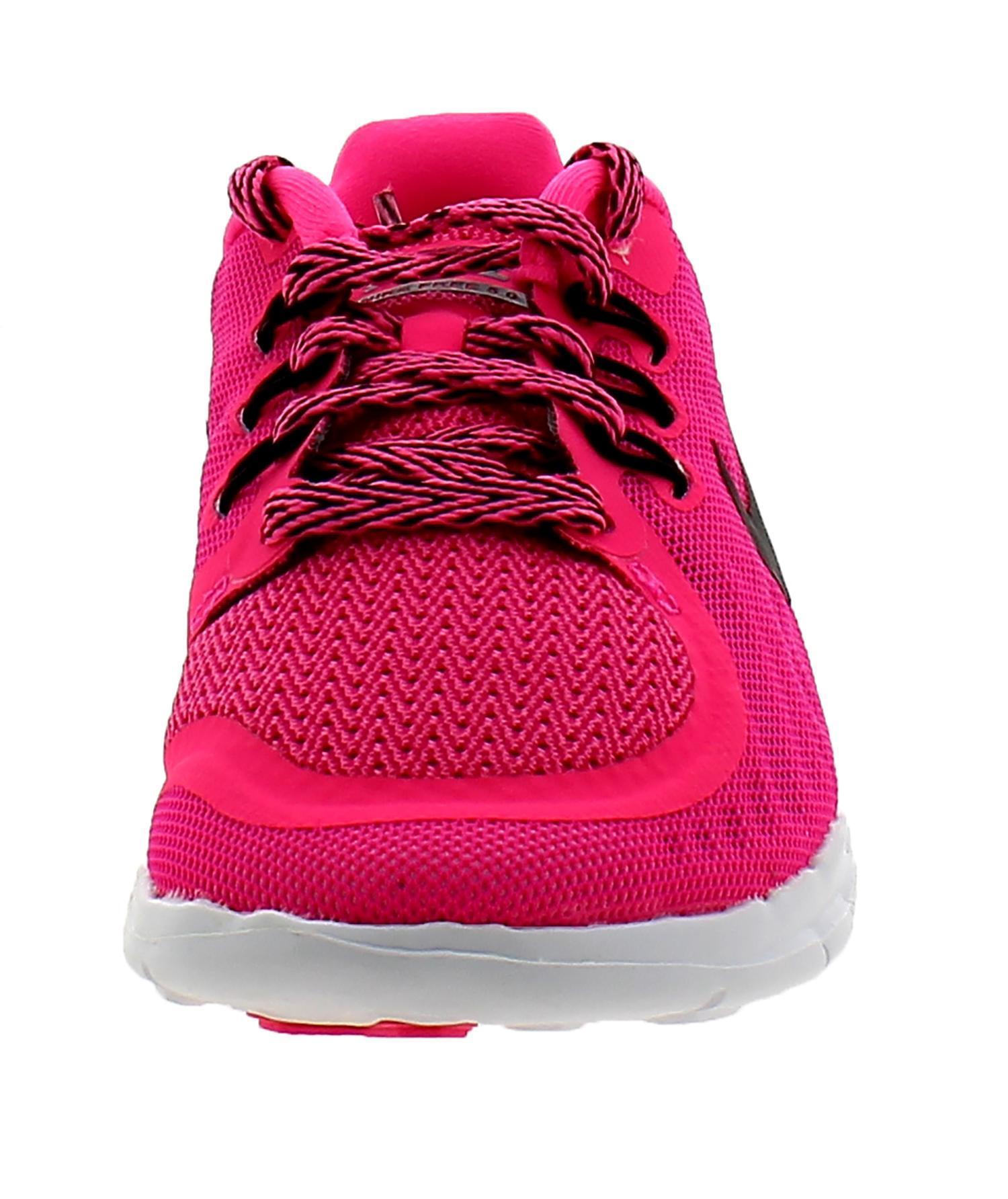 nike nike free 5 (ps) scarpe sportive bambina rosa tela 725115