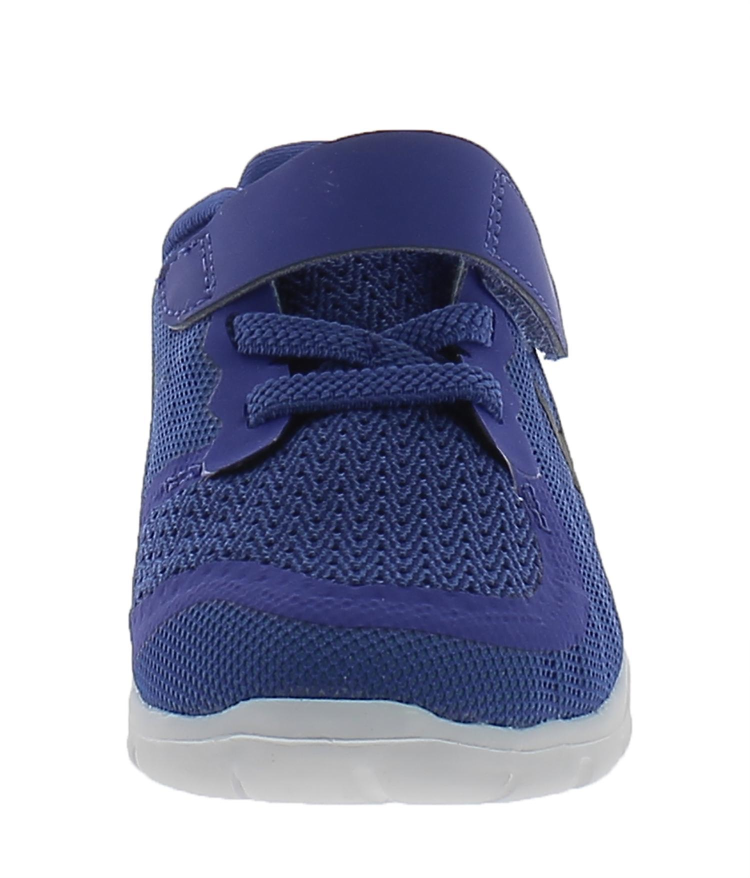 nike free 5 tdv scarpe sportive bambino blu pelle tela strappi 725107