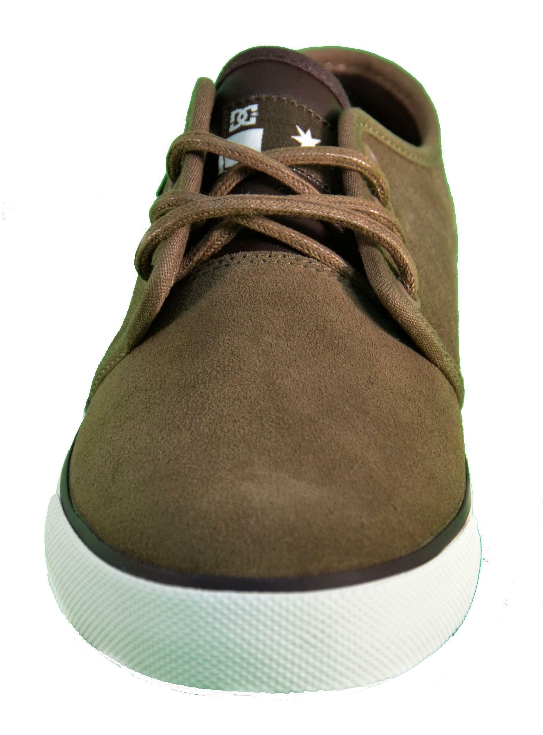 dc dc shoes studio s scarpe marroni pelle 303284
