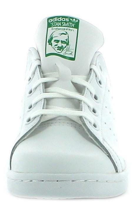 adidas originals adidas stan smith el c scarpe sportive bambino/a bianche ba8375