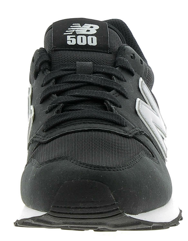 new balance 500 nere
