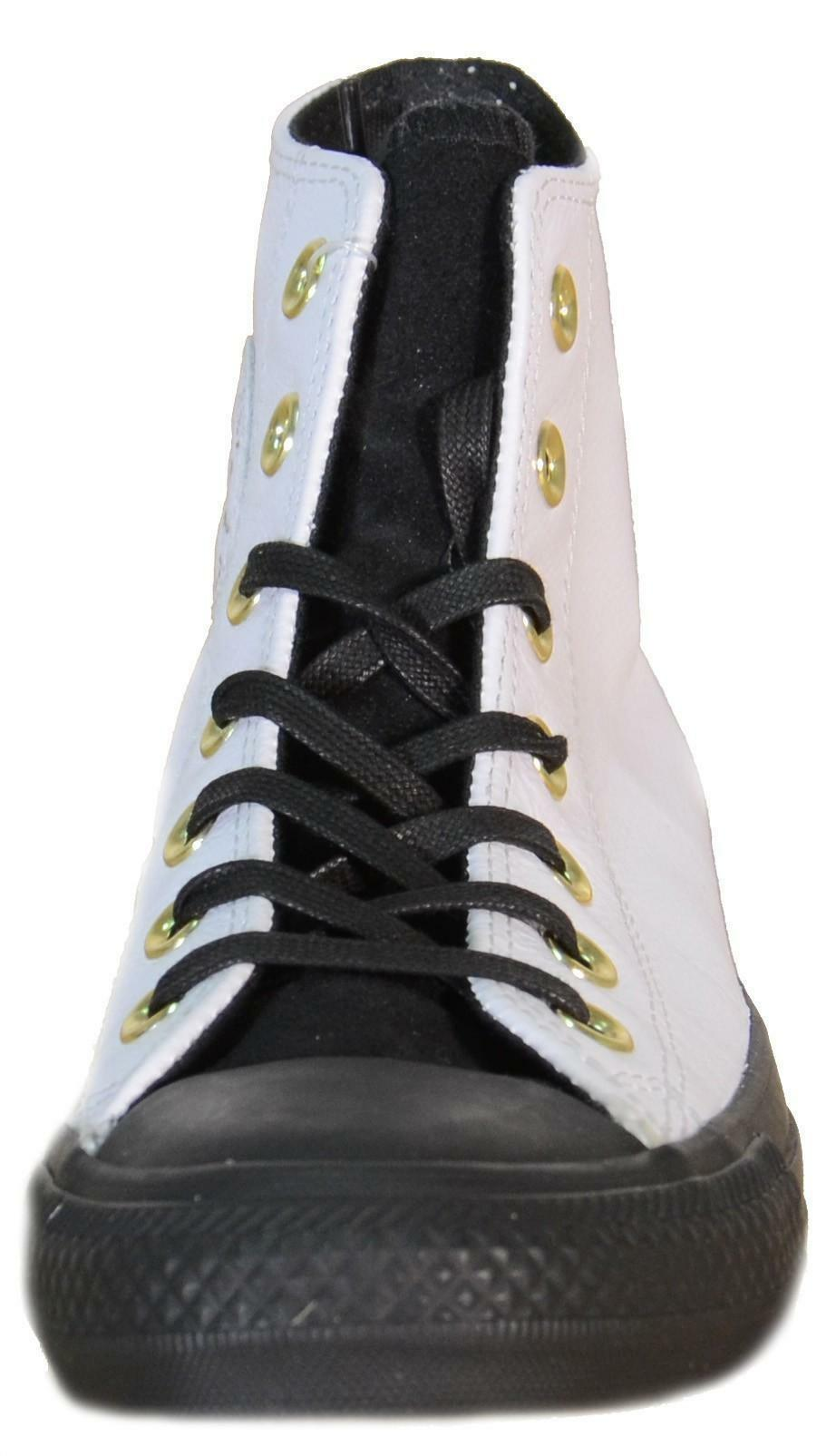 converse converse all star ct hi scarpe donna bianche pelle 146632