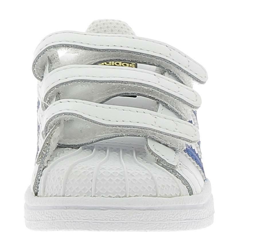 adidas adidas superstar cf i scarpe sportive bianche bz0421