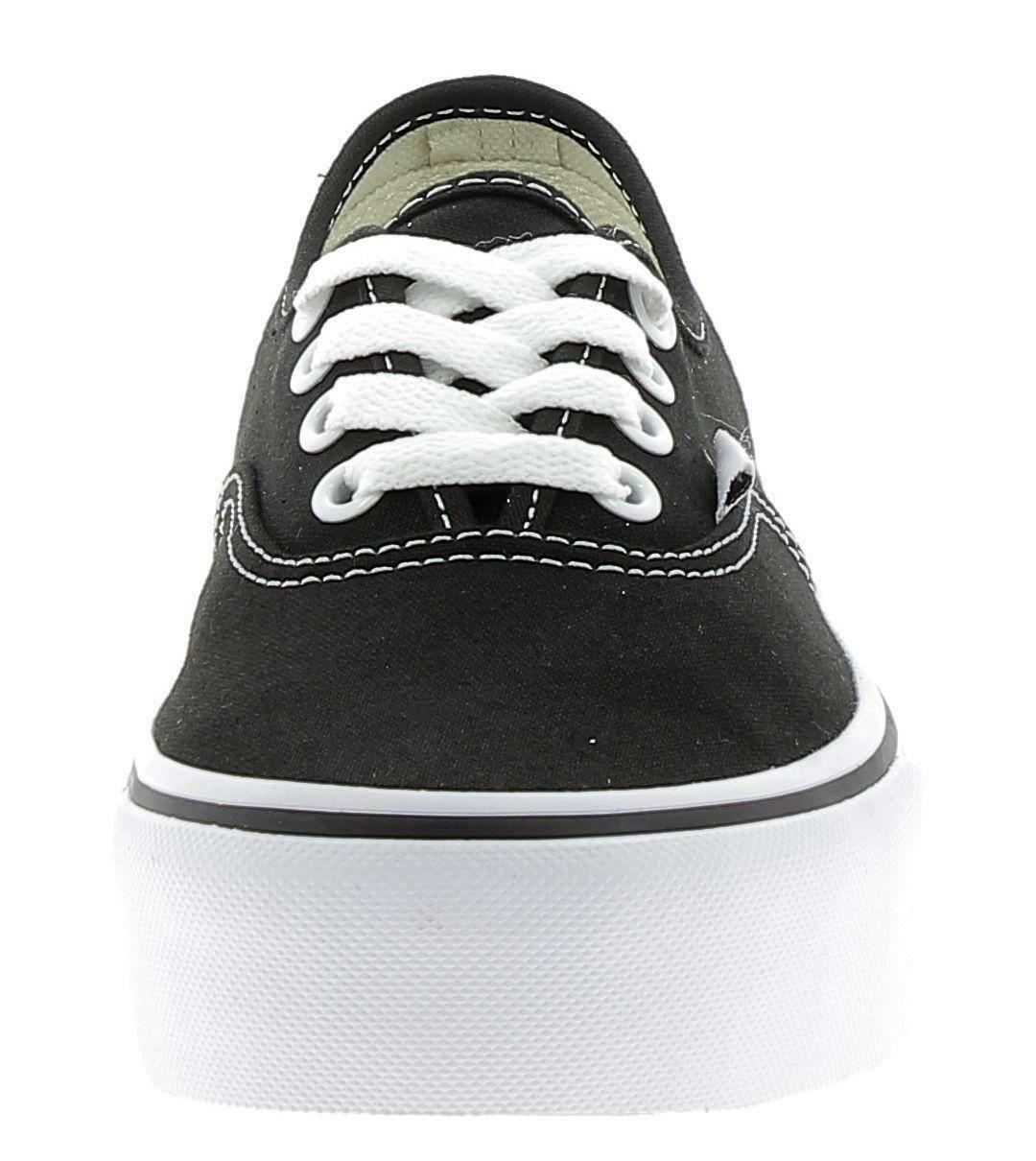 vans vans authentic platfor scarpe sportive donna nere vna3av8blk1