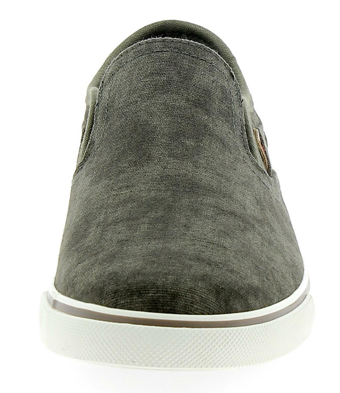wrangler wrangler mitos slip on scarpe uomo verde wm18100120