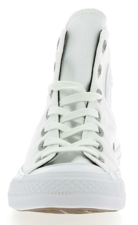 converse converse ctas hi scarpe sportive borchie donna bianche
