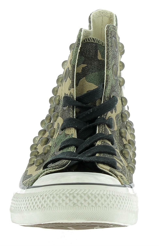 converse converse ctas distressed hi gothic scarpe sportive borchie camouflage 160993c