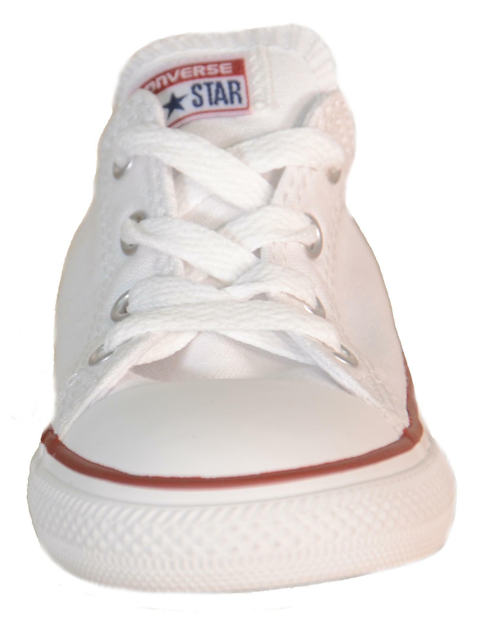 converse converse all star ox optical white scarpe bambino bianche tela 7j256c