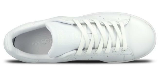 adidas stan smith scarpe sportive uomo pelle bianche s75104