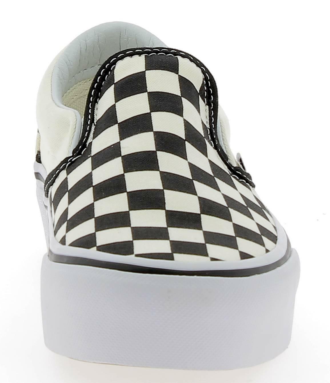 vans vans classic slip on scarpe sportive nere bianche